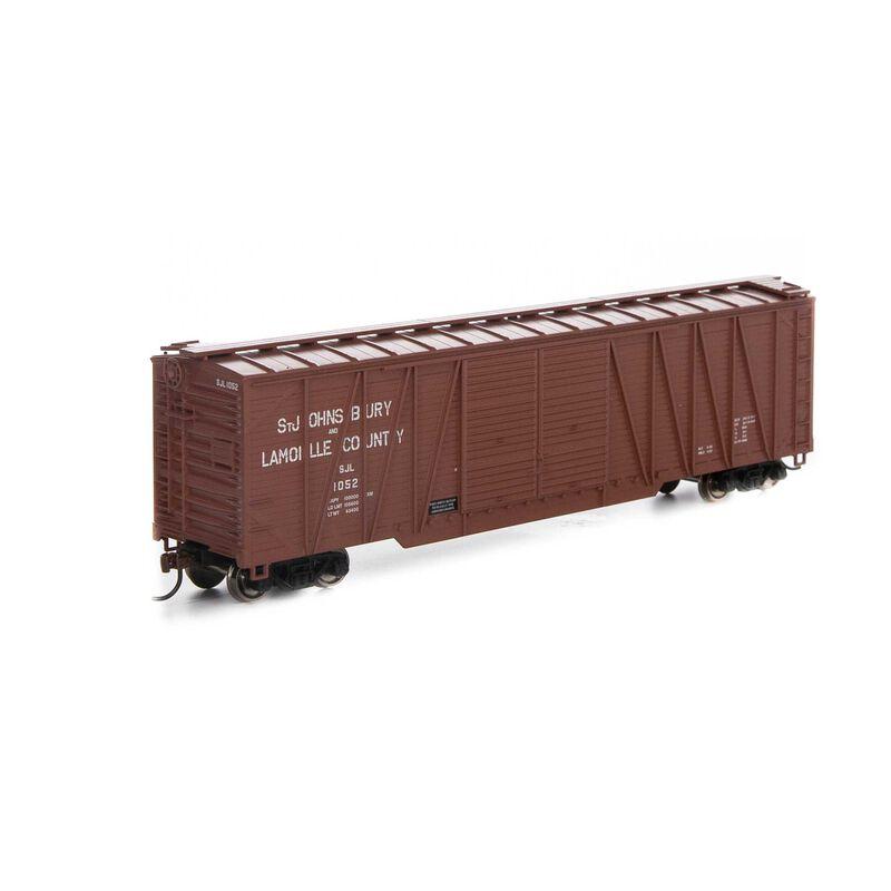 HO RTR 50' Single Sheathed Box SJ&L #1052