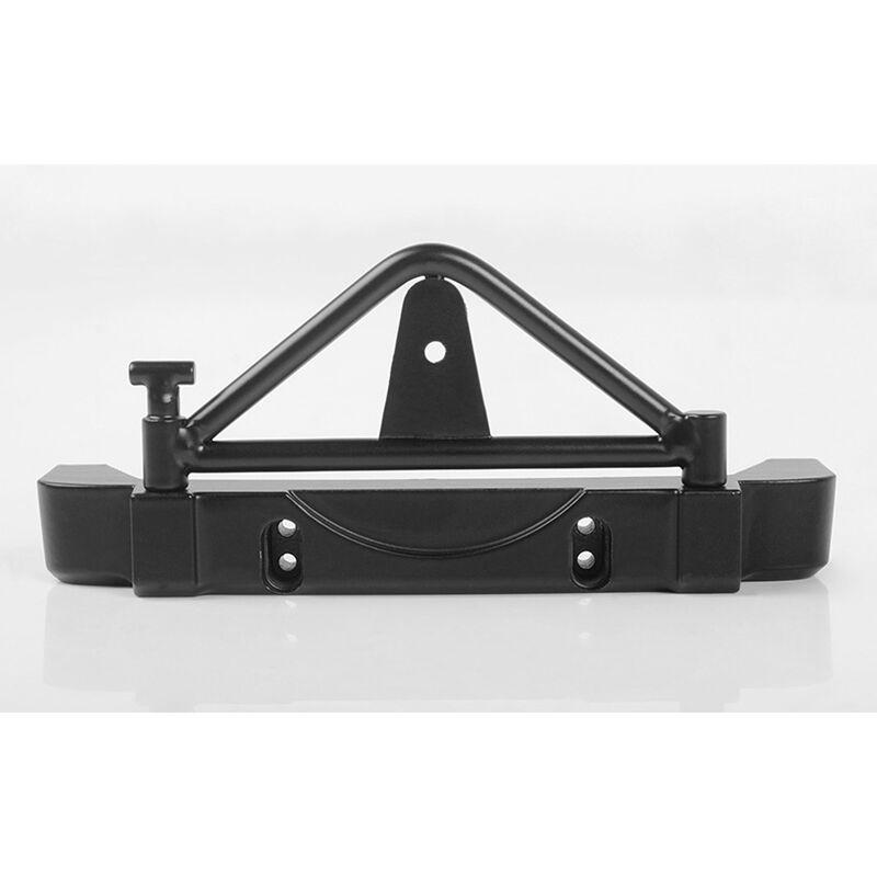Tough Armor Rear Bumper: 1/18 Black Rock Body