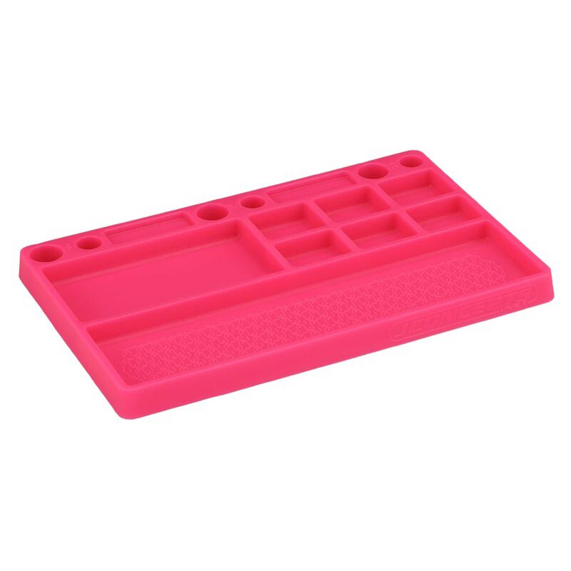 Parts Tray Rubber Material, Pink