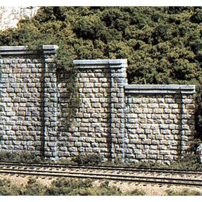 HO Retaining Wall, Cut Stone (3)