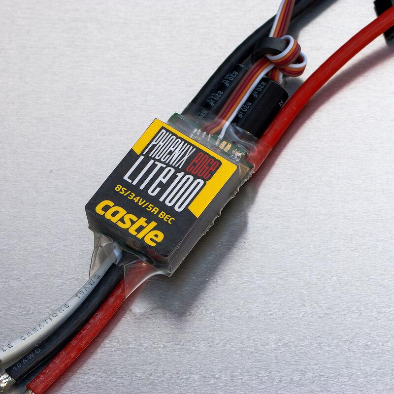 Phoenix Edge Lite 100, 34V 100-Amp ESC w/ 5-Amp BEC