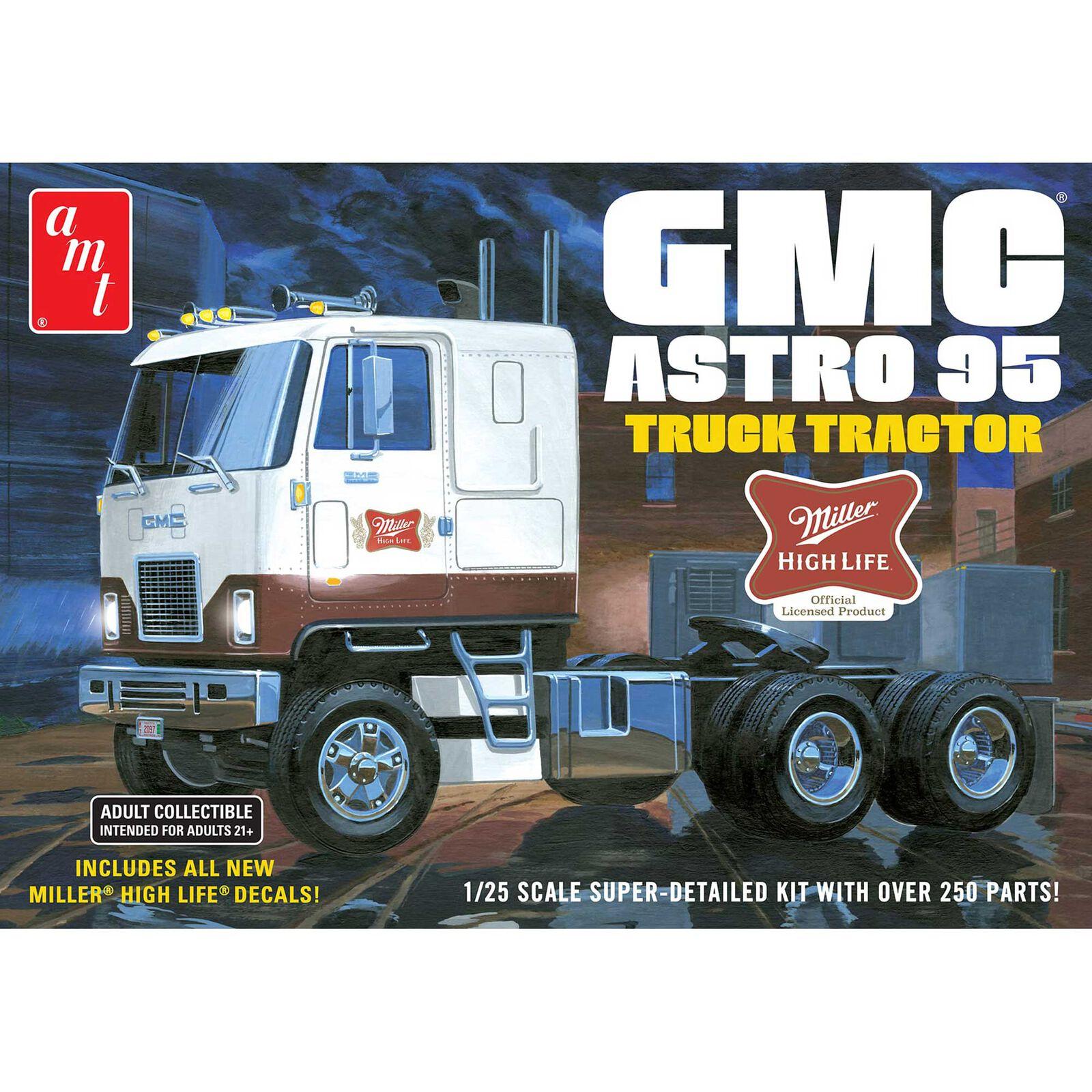 GMC Astro 95 Semi Tractor (Miller Beer)