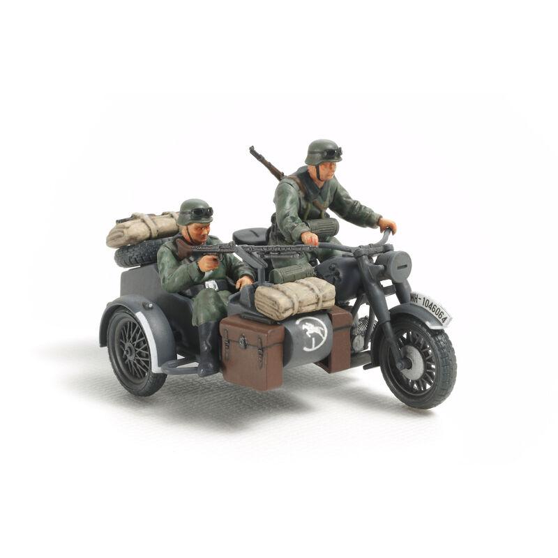 1/48 German Motorcycle & Sidecar