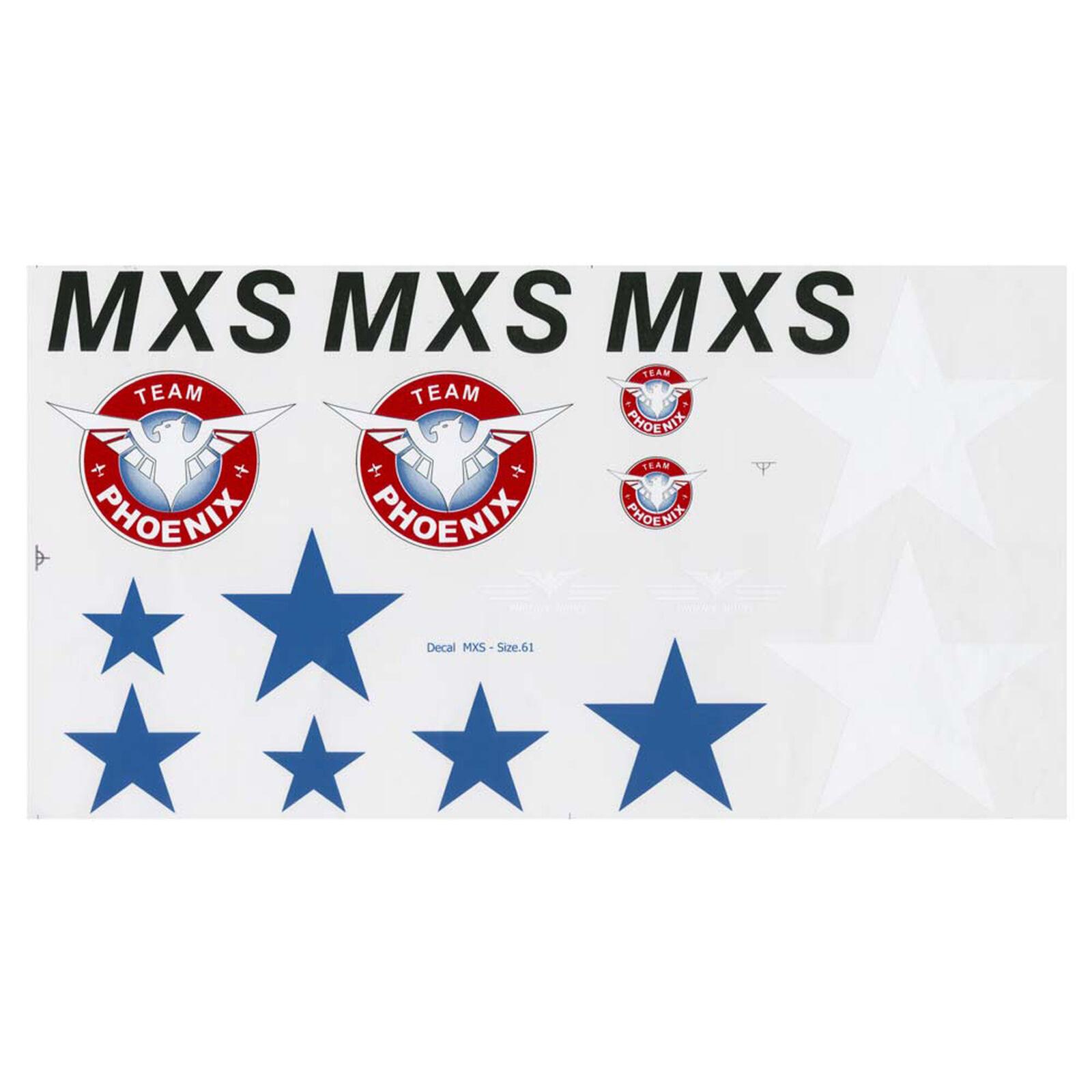 Decal MXS .46-.55 GP EP 1 5 Scale ARF