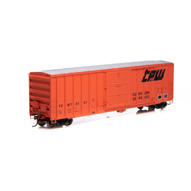 HO RTR 50' FMC 5347 Box TP&W #70141