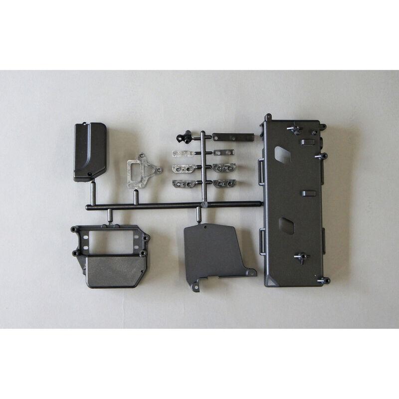Radio Box and Battery Tray: X8E