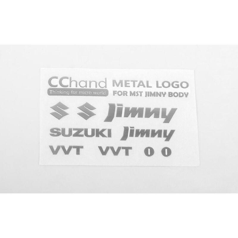 Metal Emblems: MST 1/10 CMX with Jimny J3 Body, Silver