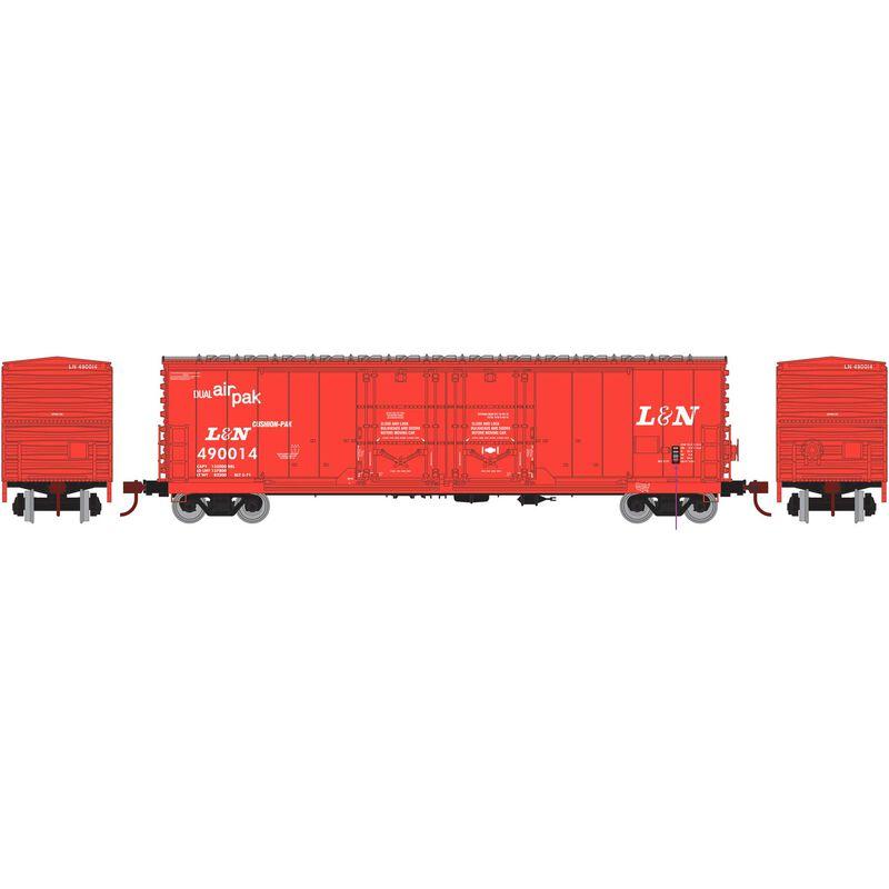 HO RTR 50' Evans DD Plug Box L&N #490014