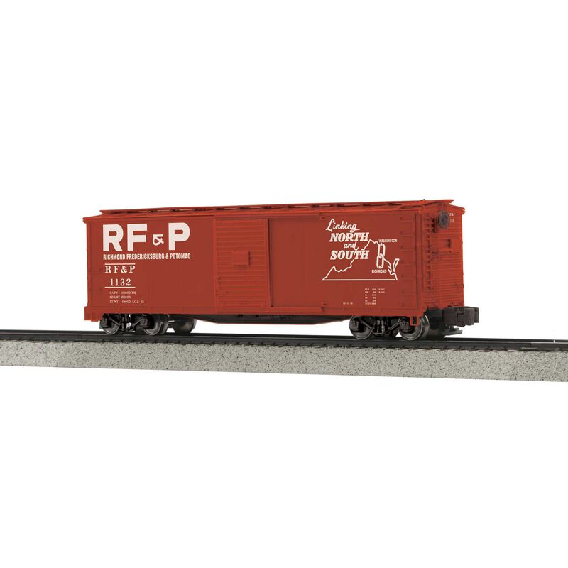 Rebuilt Steel Box Car Hi-Rail Wheels RF&P #1132