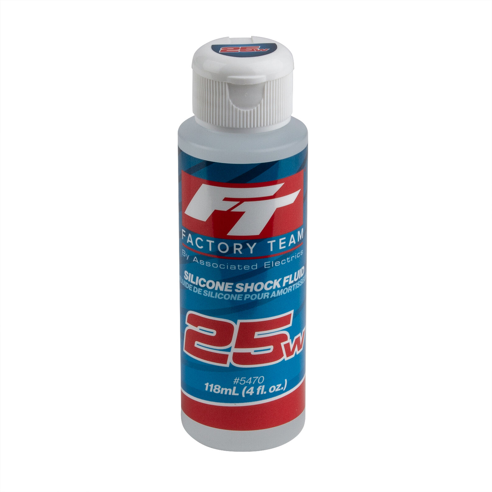 FT Silicone Shock Fluid, 25wt (275 cSt)