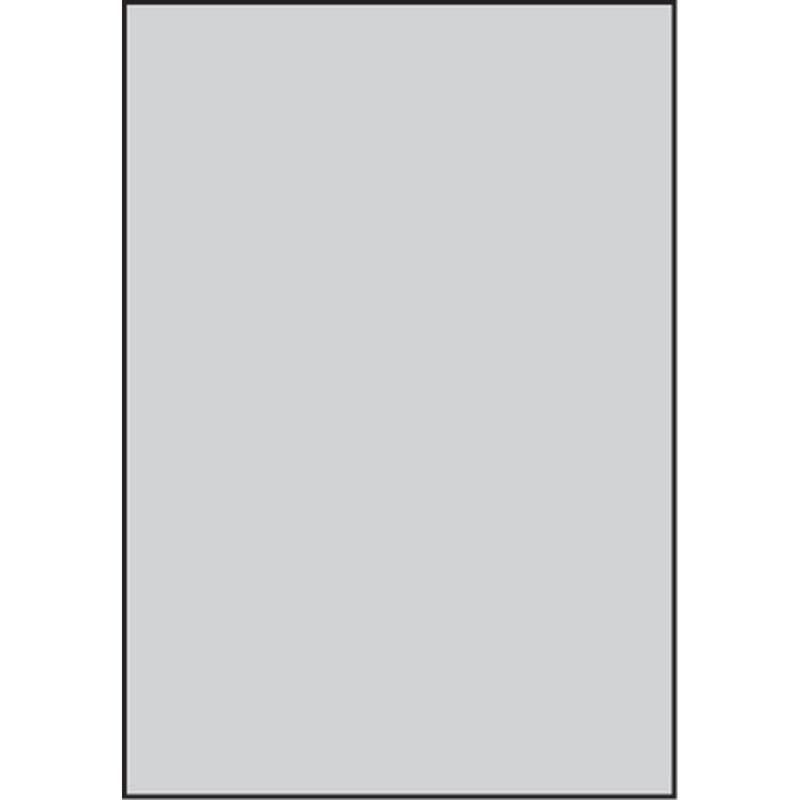 """Clear PVC, .015 x 7.6"""" x 11 (4)"""