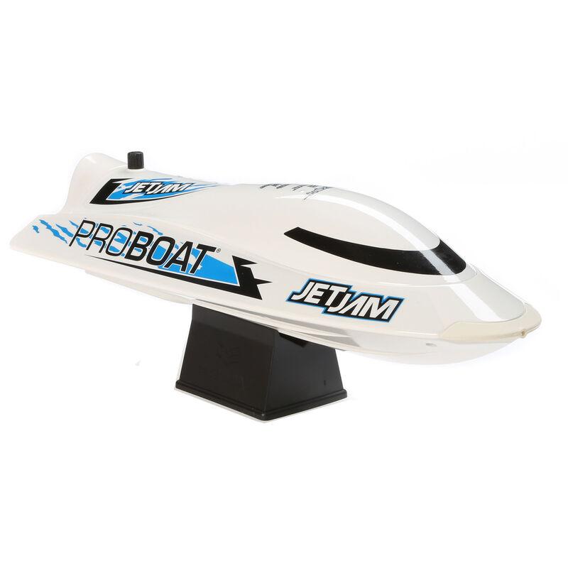 """Jet Jam 12"""" Pool Racer Brushed RTR, White"""