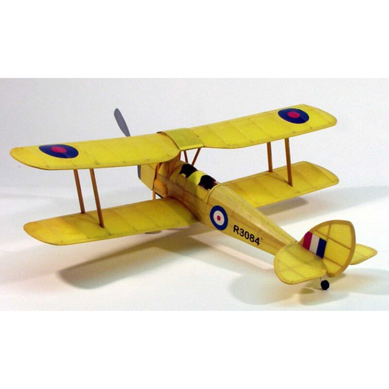 Tiger Moth Rubber Powered Kit, 17.5""