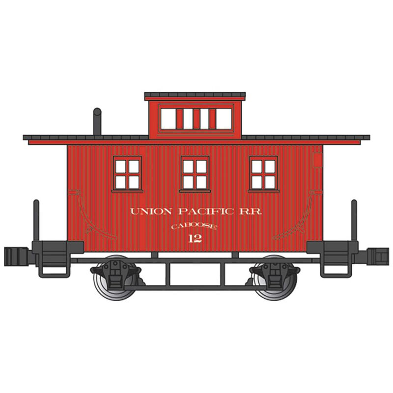 N Old Time Caboose UP