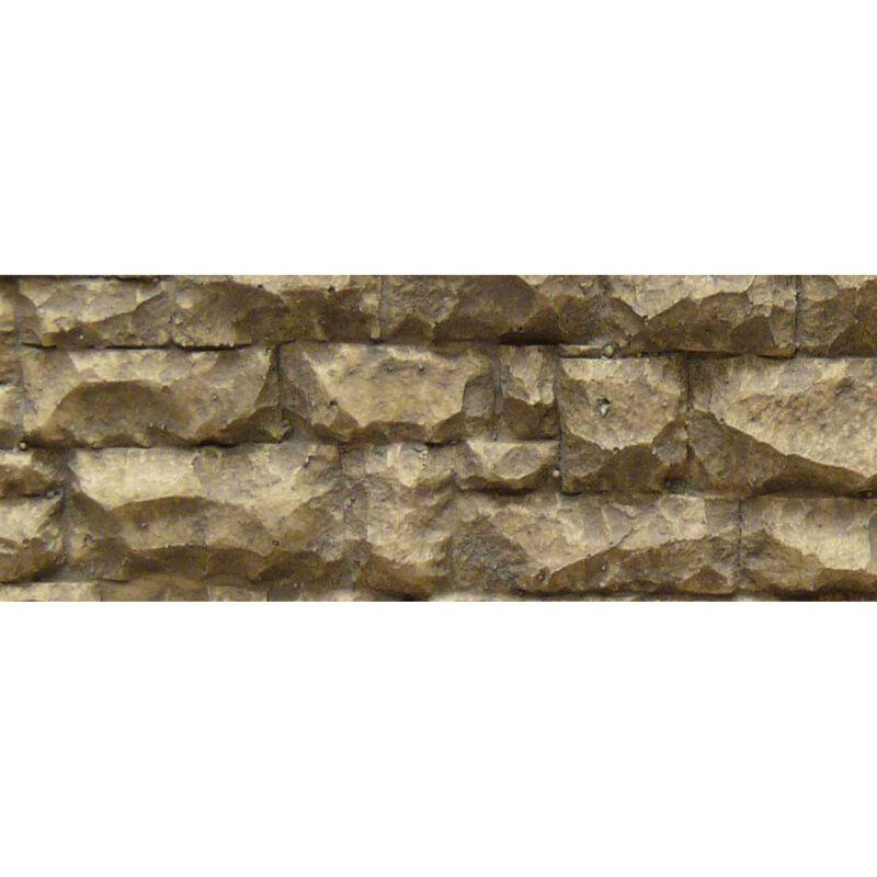 "O/G Flexible Large Random Stone Wall, 3.5""x13"""