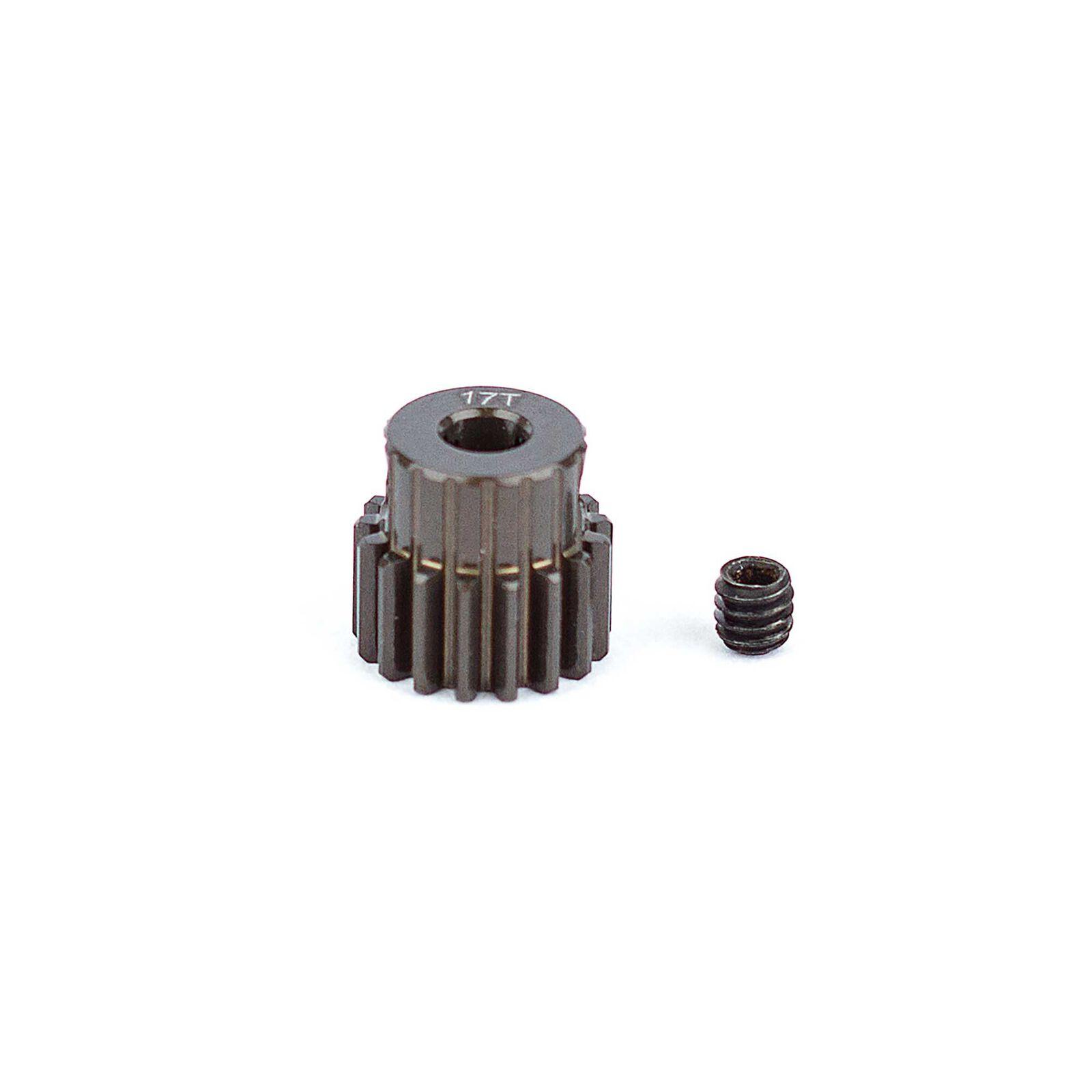 Factory Team Aluminum Pinion Gear, 17T, 48P, 1/8 shaft