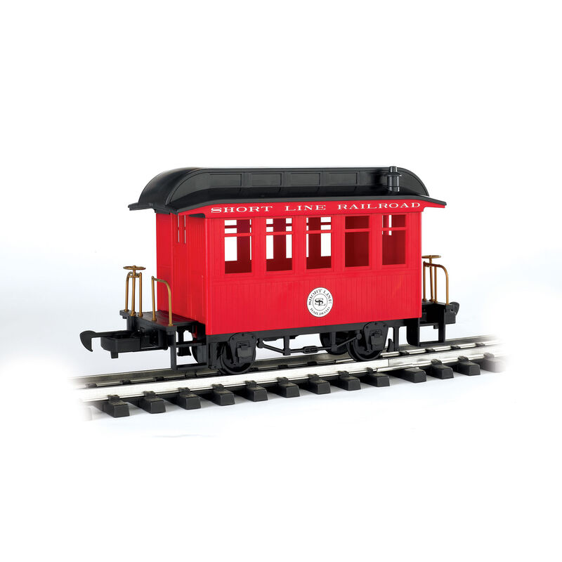 G Li'l Big Haulers Coach Car, Short Line/Red