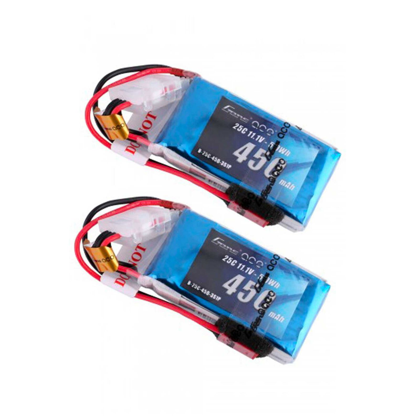 450mAh 11.1V 25C 3S1P Lipo Battery Pack with JST-SYP (2)