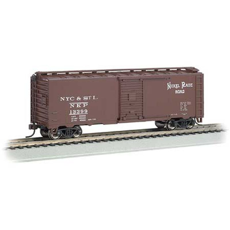 HO Track Cleaning 40' Box Nickel Plate Road #13163