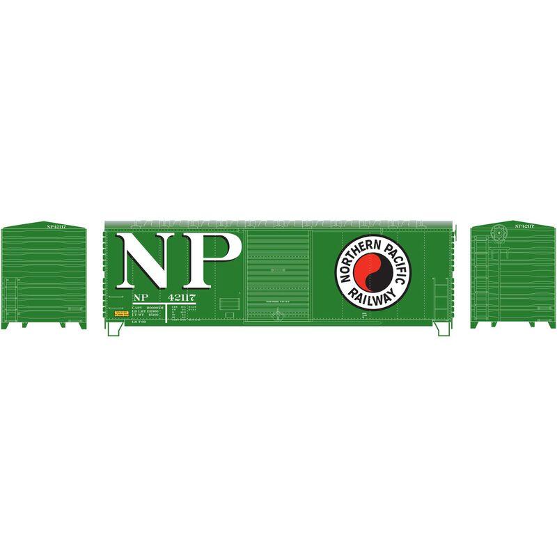 HO RTR 40' Modernized Box NP #42117