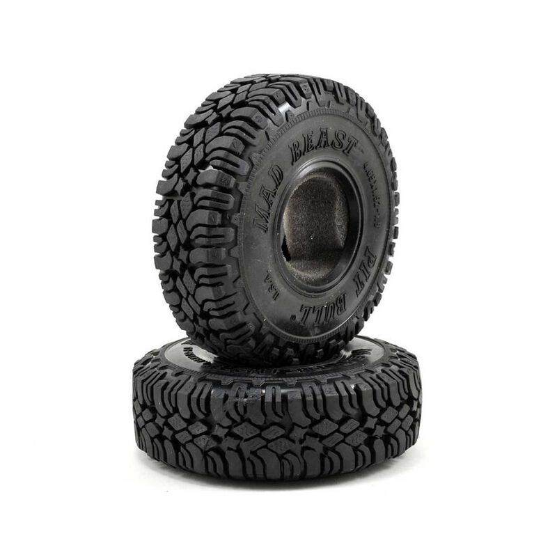 Mad Beast Scale 1.9 Tire with 2 Stage Foam