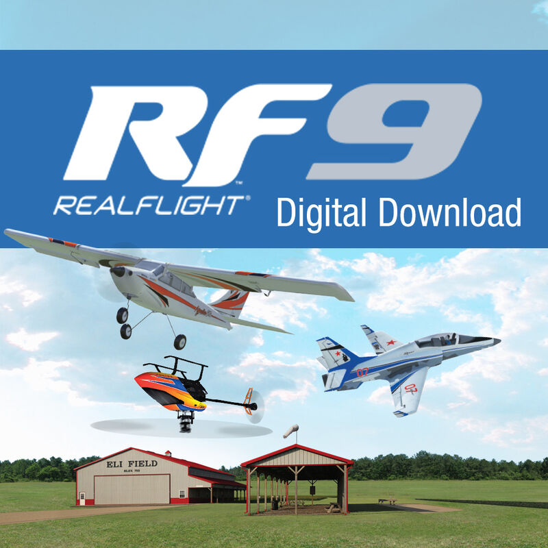 RealFlight 9 Flight Simulator, Digital Download
