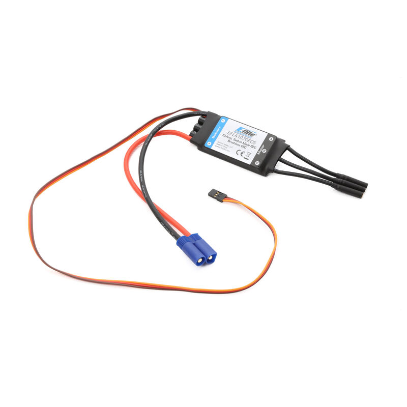 70-Amp Switch Mode BEC Brushless ESC with EC5