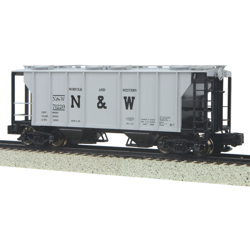 S PS-2 2-Bay Hopper, N&W #71220