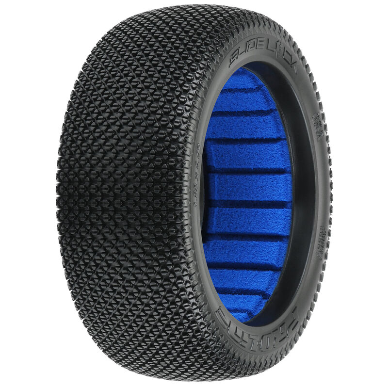 1/8 Slide Lock S3 Soft Off-Road Tire (2): Buggy