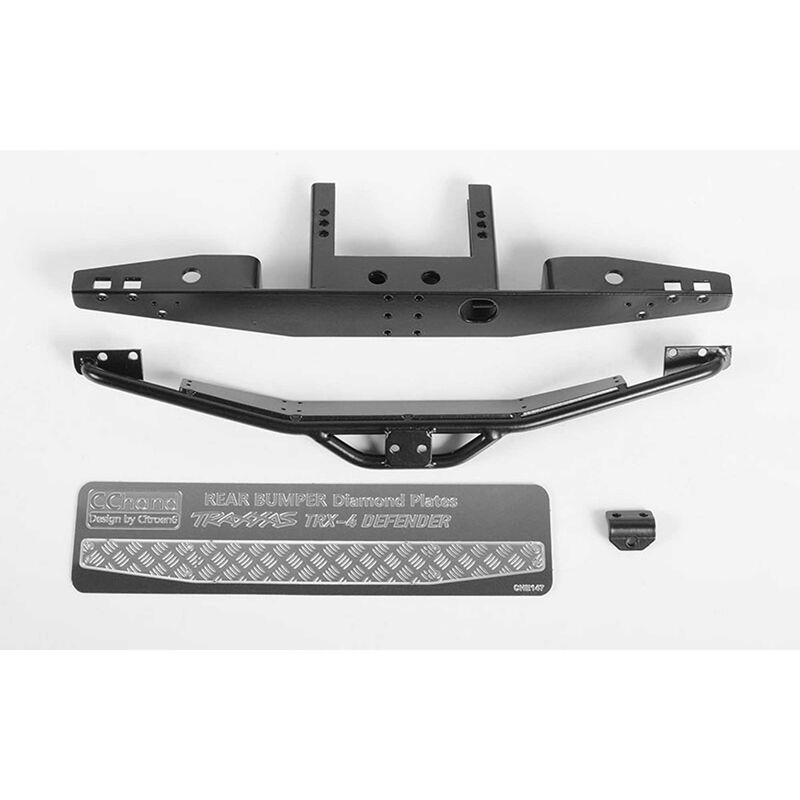Rook Metal Rear Bumper: TRX-4