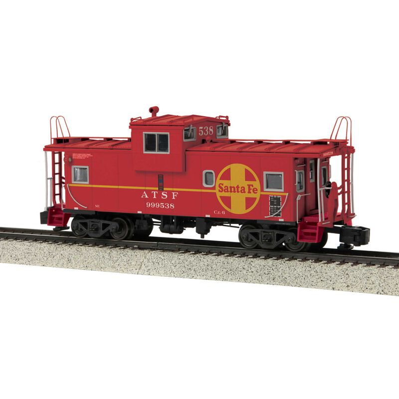 Extended Vision Caboose Hi-Rail Wheels SF #999538