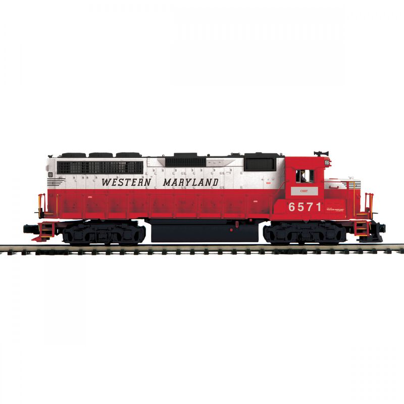O-27 GP40 with PS3 Hi-Rail WM #6571