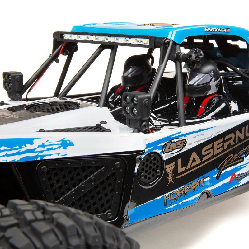 1/10 Lasernut U4 4WD Brushless RTR with Smart ESC, Blue