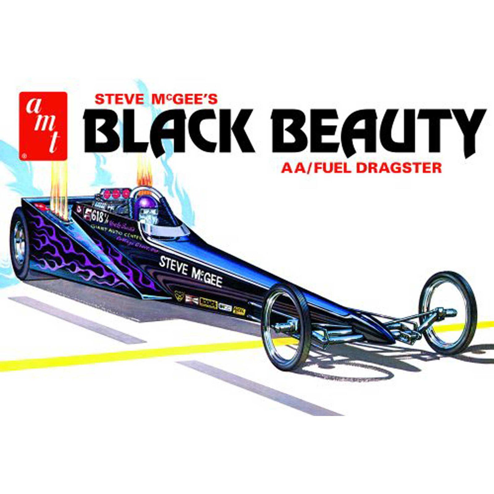 1/25 Steve McGee Black Beauty Wedge Dragster