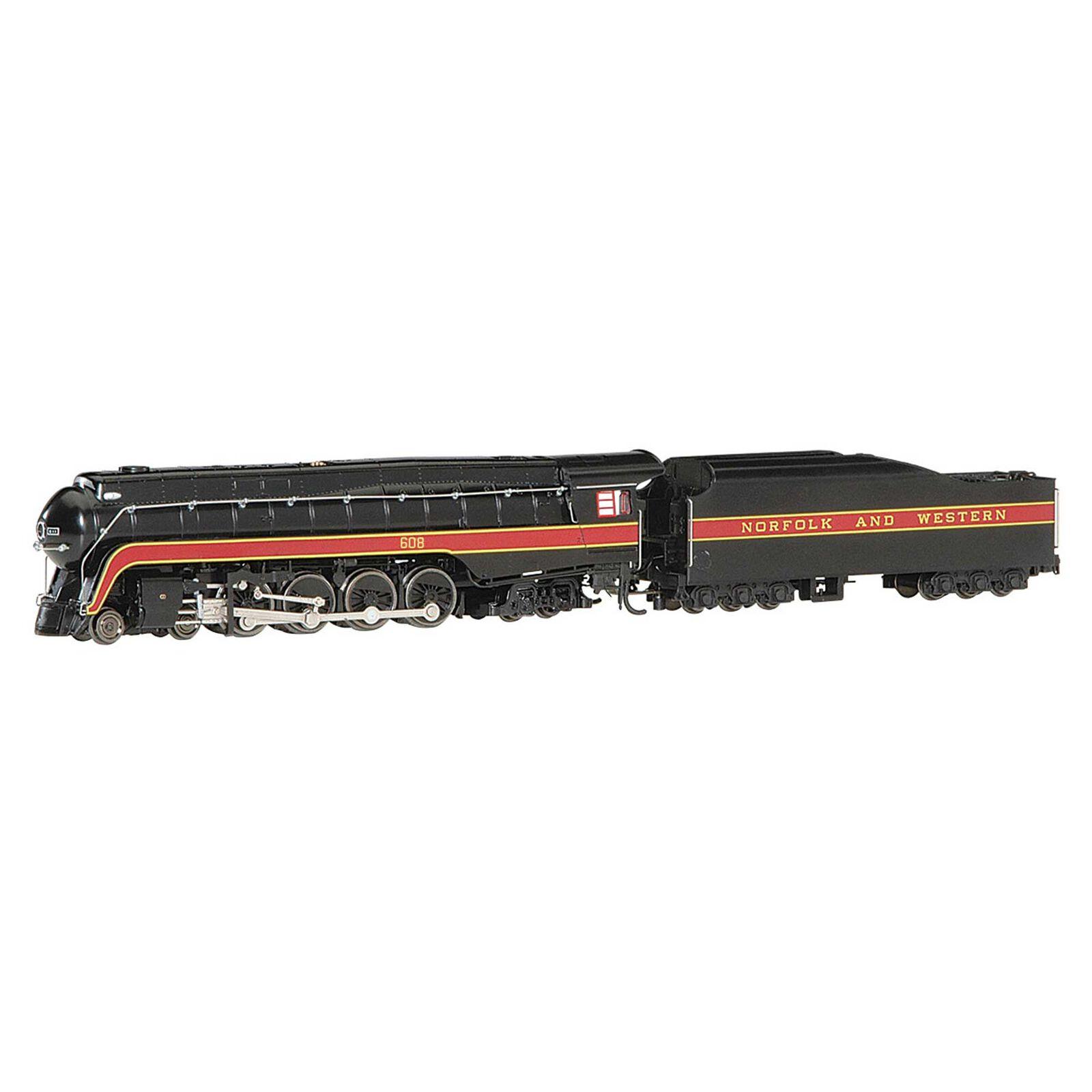 N 4-8-4 Class J N&W #608