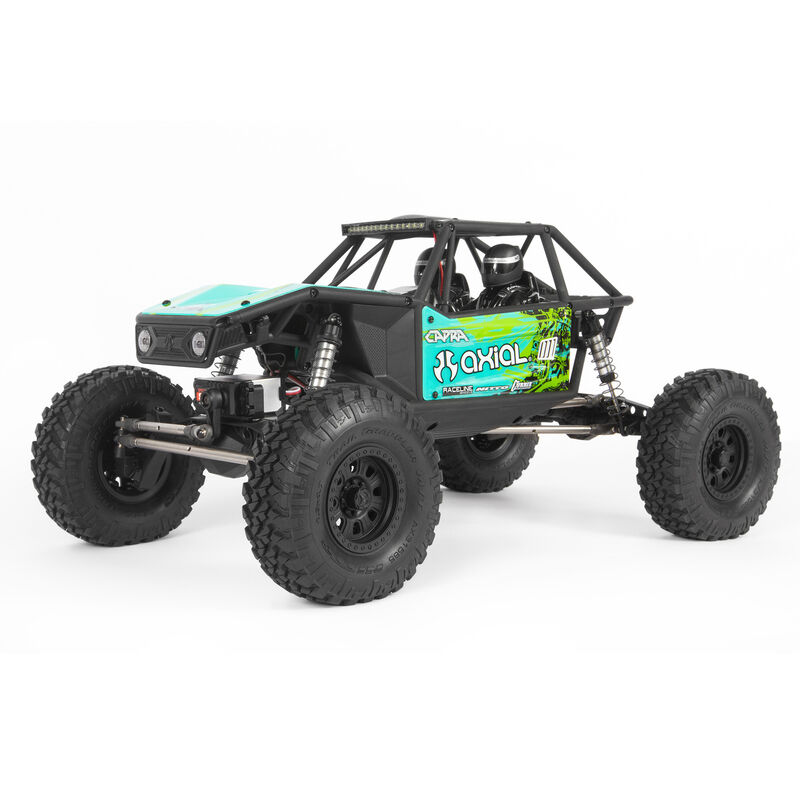 1/10 Capra 1.9 Unlimited 4WD Trail Buggy Brushed RTR, Green