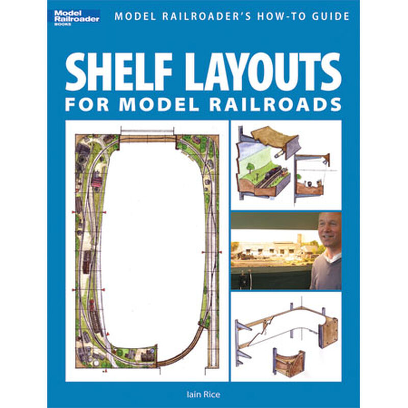 Shelf Layouts for Model Railroads (Paperback)