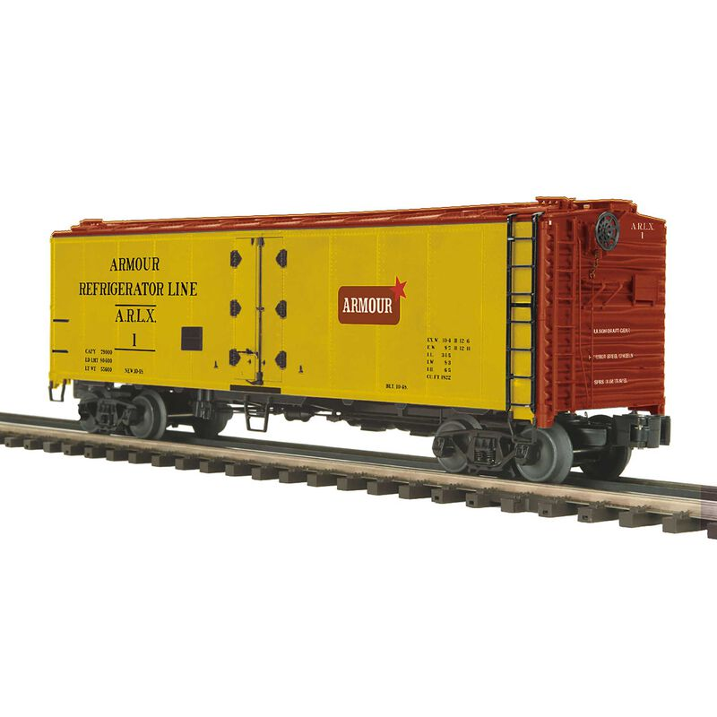 Armour 40' Steel Sided Reefer Car