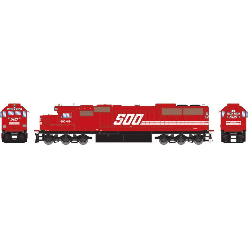 HO RTR SD60 with DCC & Sound SOO #6049