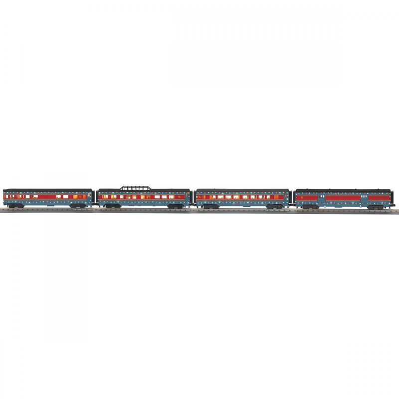 O-27 60' Streamlined Passenger w LED North Pole(4)