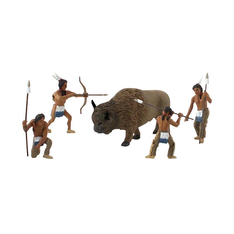 Scene-A-Rama Scene Setters Native American Hunters