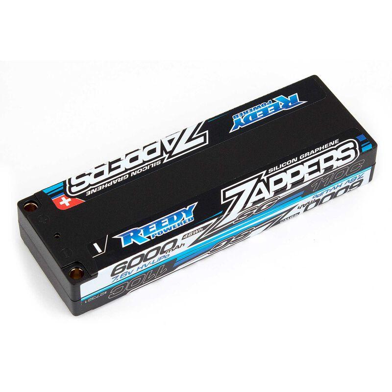 7.6V 6000mAh 2S 110C Reedy Zappers SG Stick HV-LiPo Battery: Tubes, 5mm