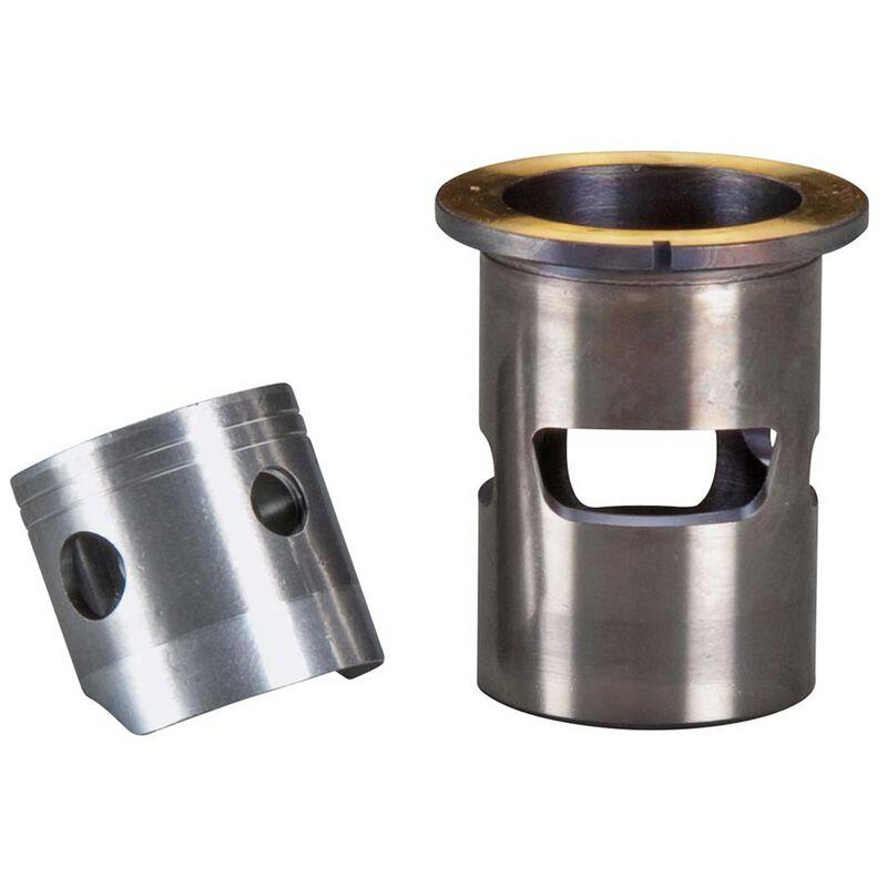 Cylinder & Piston Assembly: 21XM V2 Outboard Marine