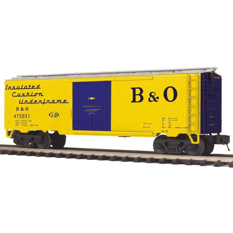 O Reefer B&O #475021