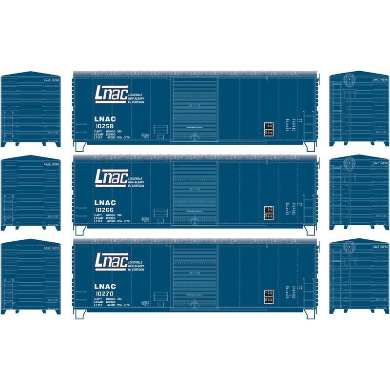 HO RTR 40' Modernized Box LNA&C (3)