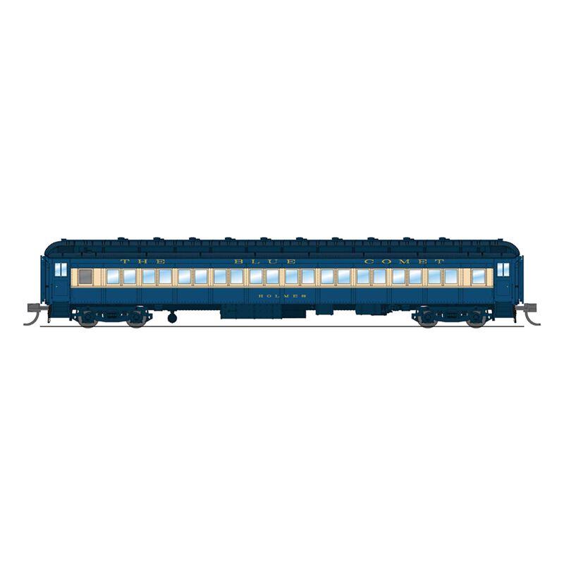 6528 CNJ 80' Passenger , Blue Comet, Single Car,N