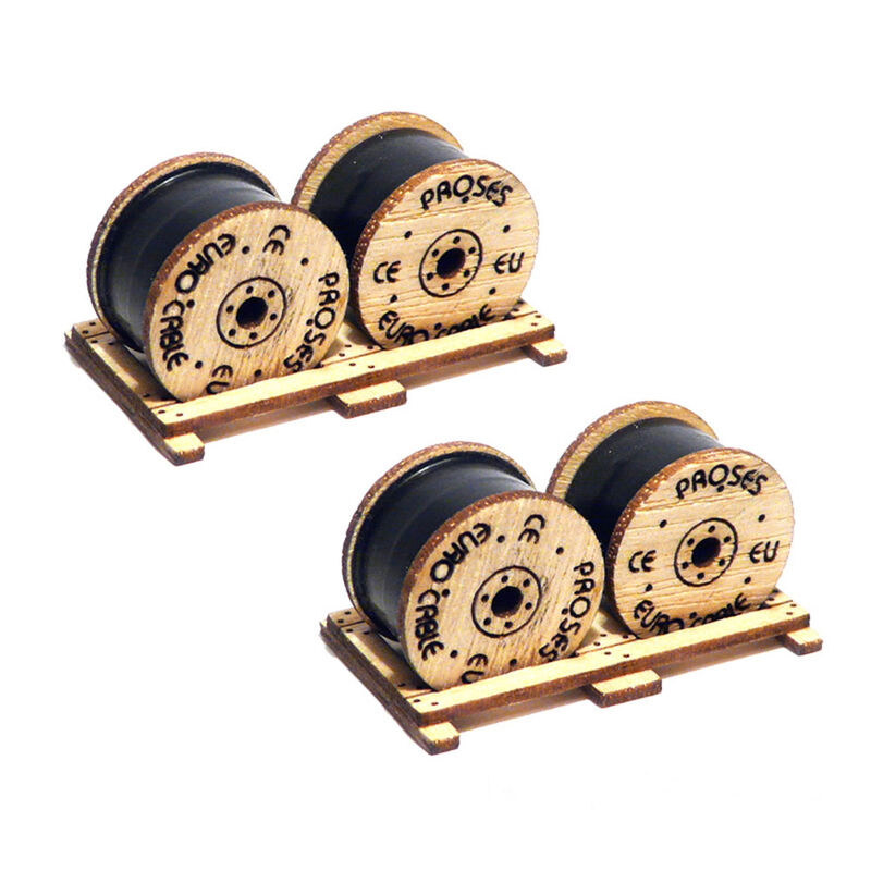 HO Cable Drums (2)