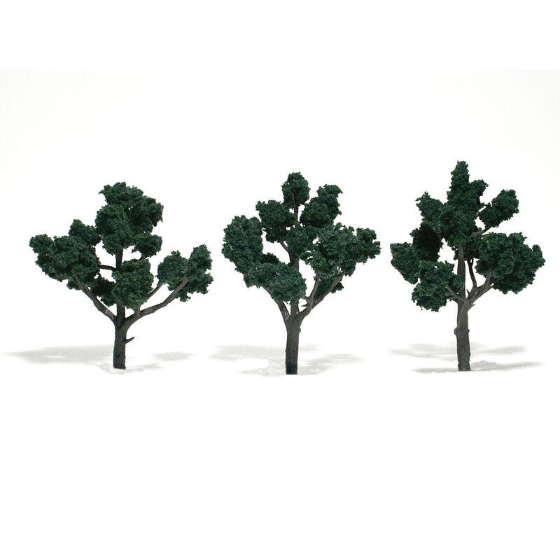 """Ready-Made Tree, Dark Green 4-5"""" (3)"""