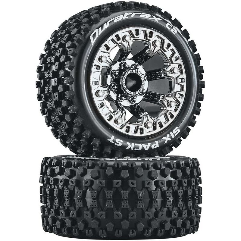 Six Pack ST 2.2 Tires, Chrome (2)