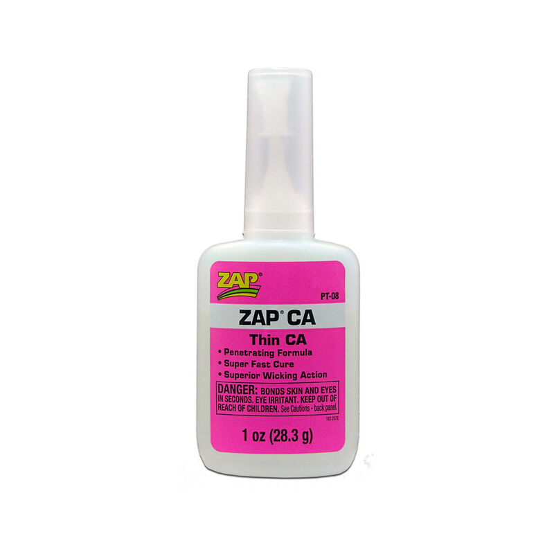 Zap Thin CA Glue, 1 oz